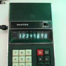 Segunda Mano: CALCULADORA SANTEK K-80X. Lote 123192239