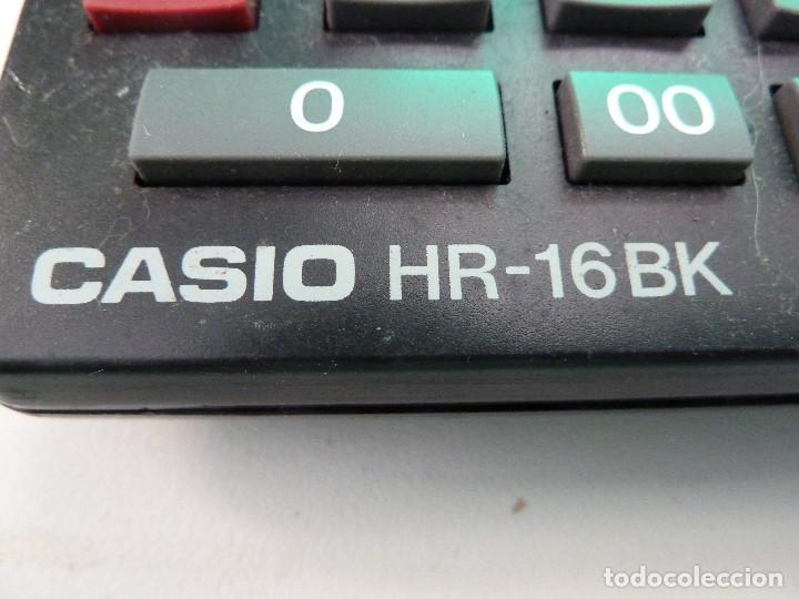 Segunda Mano: CALCULADORA CASIO HR-16BK - Foto 3 - 123211535