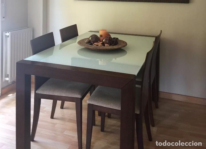 moderno juego de comedor extensible madera chap - Kaufen Artikel für ...