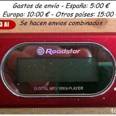 Segunda Mano: MINI MP3 WMA DIGITAL PLAYER ROADSTER AÑO 2008 SERIE DESCATALOGADA. Lote 105532175
