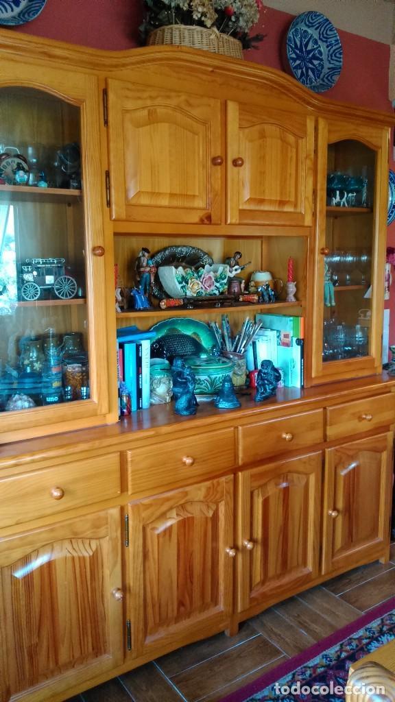 mueble comedor madera de pino. - Comprar artículos de segunda mano ...