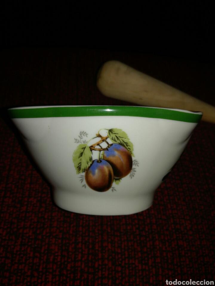 Segunda Mano: Mortero poco visto porcelana Galerías Preciados - Foto 3 - 125344102