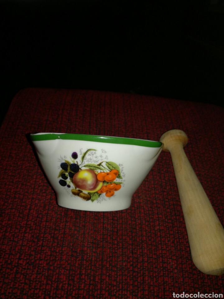 Segunda Mano: Mortero poco visto porcelana Galerías Preciados - Foto 6 - 125344102