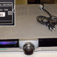 Segunda Mano: REPRODUCTOR/RECEPTOR DVD RECEIVER AIWA CX-VX33 (SONY CORPORATION). Lote 123572999