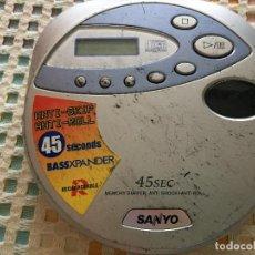 Segunda Mano: SANYO CDP 4750 DISCMAN DISK DISC MAN KREATEN. Lote 126062003