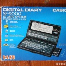 Segunda Mano: AGENDA DIGITAL CASIO SF-9000 SF9000 . Lote 126095203
