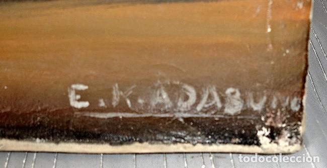 Segunda Mano: CUADRO DE E. K. ADABUNU (TOGO) - Foto 3 - 126930571