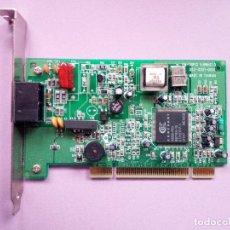 Segunda Mão: MODEM TELEFÓNICO FAX 56K - CONEXANT RS56-PCI - B56PM - INTERNO PC SOBREMESA. Lote 126984839