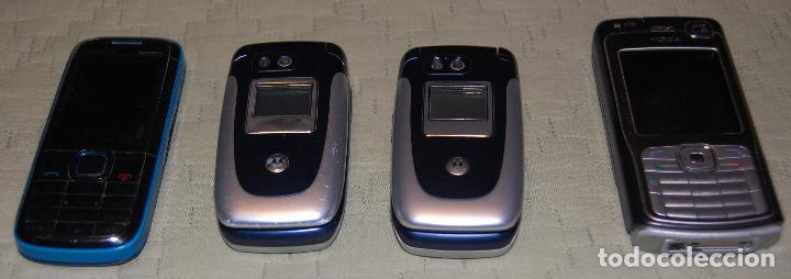 Segunda Mano: Lote de 04 teléfonos portatiles. - Foto 9 - 126439811