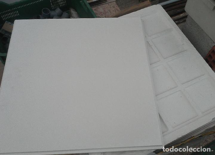 5 placas escayola para techo desmontable 60x60 - comprar artículos