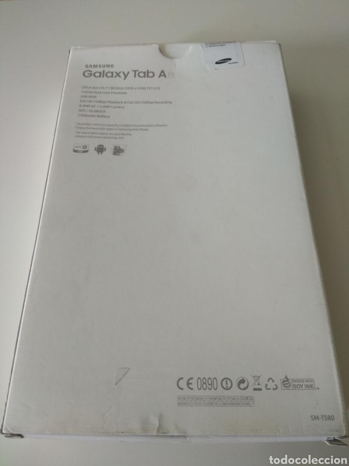 Segunda Mano: CAJA VACIA E INTERIOR tablet Samsung galaxy tab a6 10.1 pulgadas - Foto 2 - 127978863