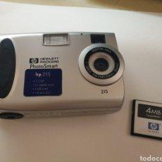 Segunda Mano: CÁMARA DIGITAL HP PHOTOS ART HP 225 1.3 MP / TARJETA MEMORIA 4MB /. Lote 128236024