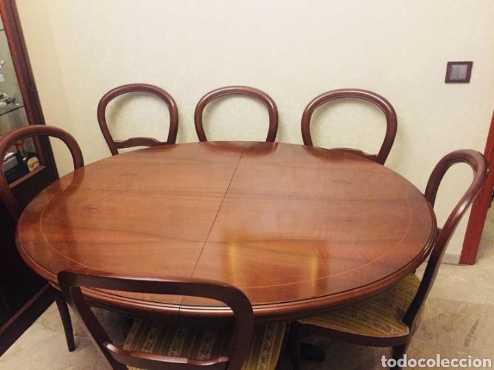 conjunto mesa comedor y 6 sillas - Comprar artículos de segunda mano ...