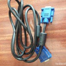Segunda Mano: CABLE ORDENADOR MONITOR VGA. Lote 128575623
