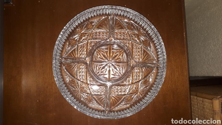 PLATO DE CRISTAL TALLADO (Segunda Mano - Hogar y decoración)