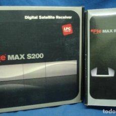 Segunda Mano: RECEPTOR SATÉLITE DIGITAL FTE MAX S200. Lote 129071639