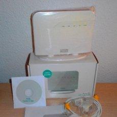 Segunda Mano: APARATO ROUTER WIFI - ADSL HASTA 35 MB - VODAFONE - USADO - 4 PUERTOS ETHERNET Y 2 PUERTOS USB. Lote 129173991