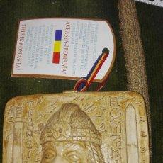 Segunda Mano: PLACA SOUVENIR DE DRÁCULA.RUMANÍA.. Lote 129229267