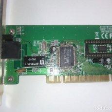Segunda Mano: TARJETA DE RED ETHERNET PCI RJ45. Lote 129662447