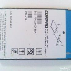 Segunda Mano: TARJETA MSC PCRM CARD COMPAQ HSD50 V5. 7D PCMCIA. Lote 129663447