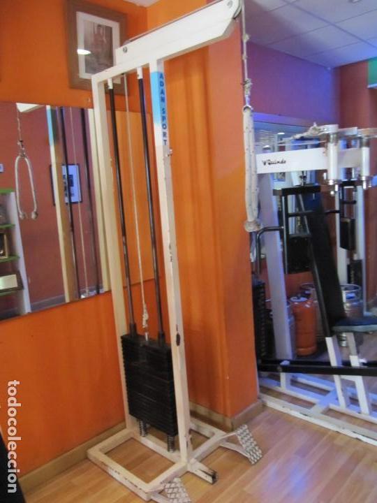 Máquina de gimnasio profesional para triceps, usado segunda mano