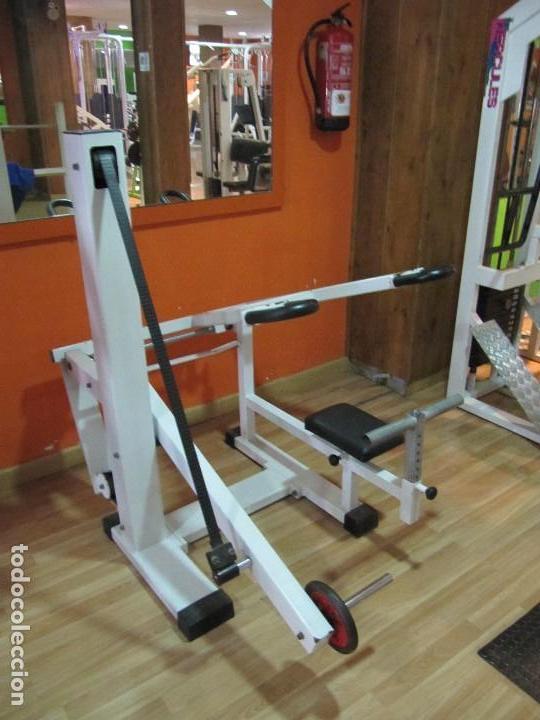 Máquina de gimnasio profesional fondo triceps segunda mano