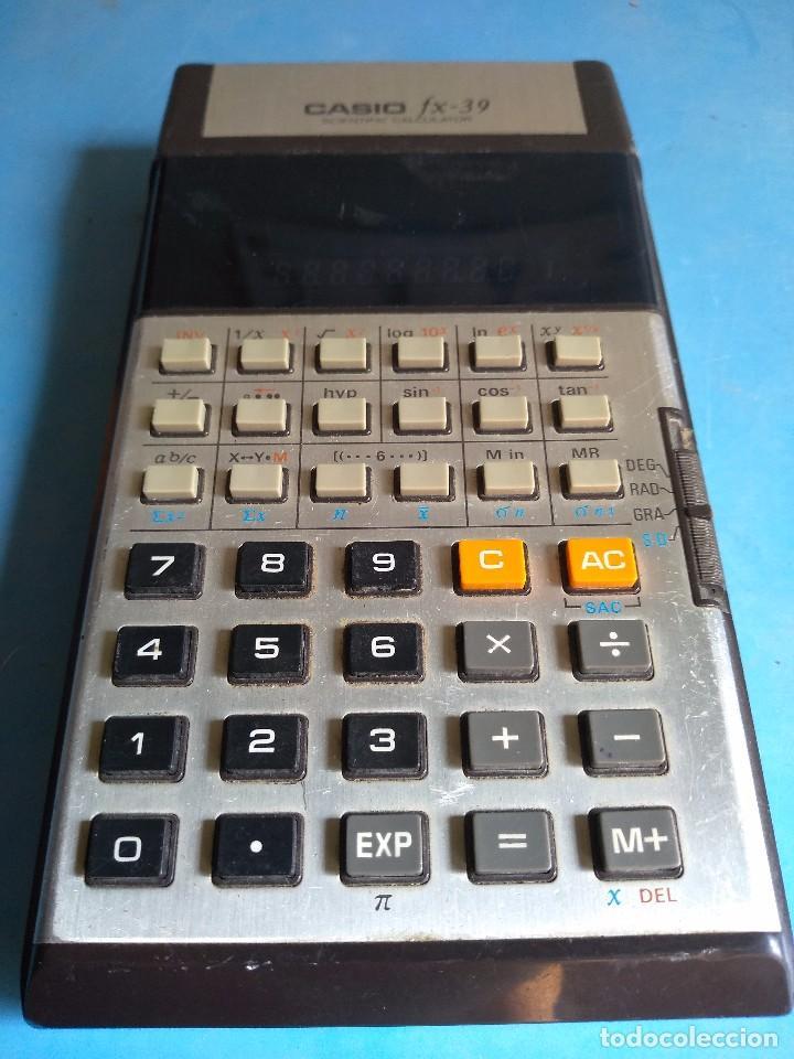 Segunda Mano: Calculadora Casio FX-39 scientific calculator, made in Japan - Foto 4 - 132662454