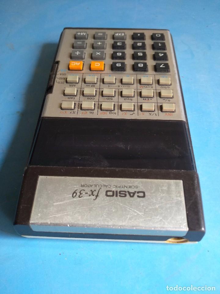 Segunda Mano: Calculadora Casio FX-39 scientific calculator, made in Japan - Foto 5 - 132662454