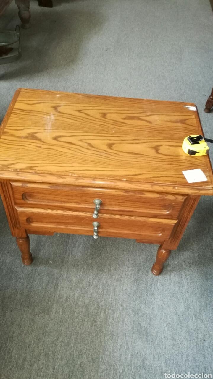 Segunda Mano: Mesa auxiliar de madera de roble L R - Foto 2 - 132868983