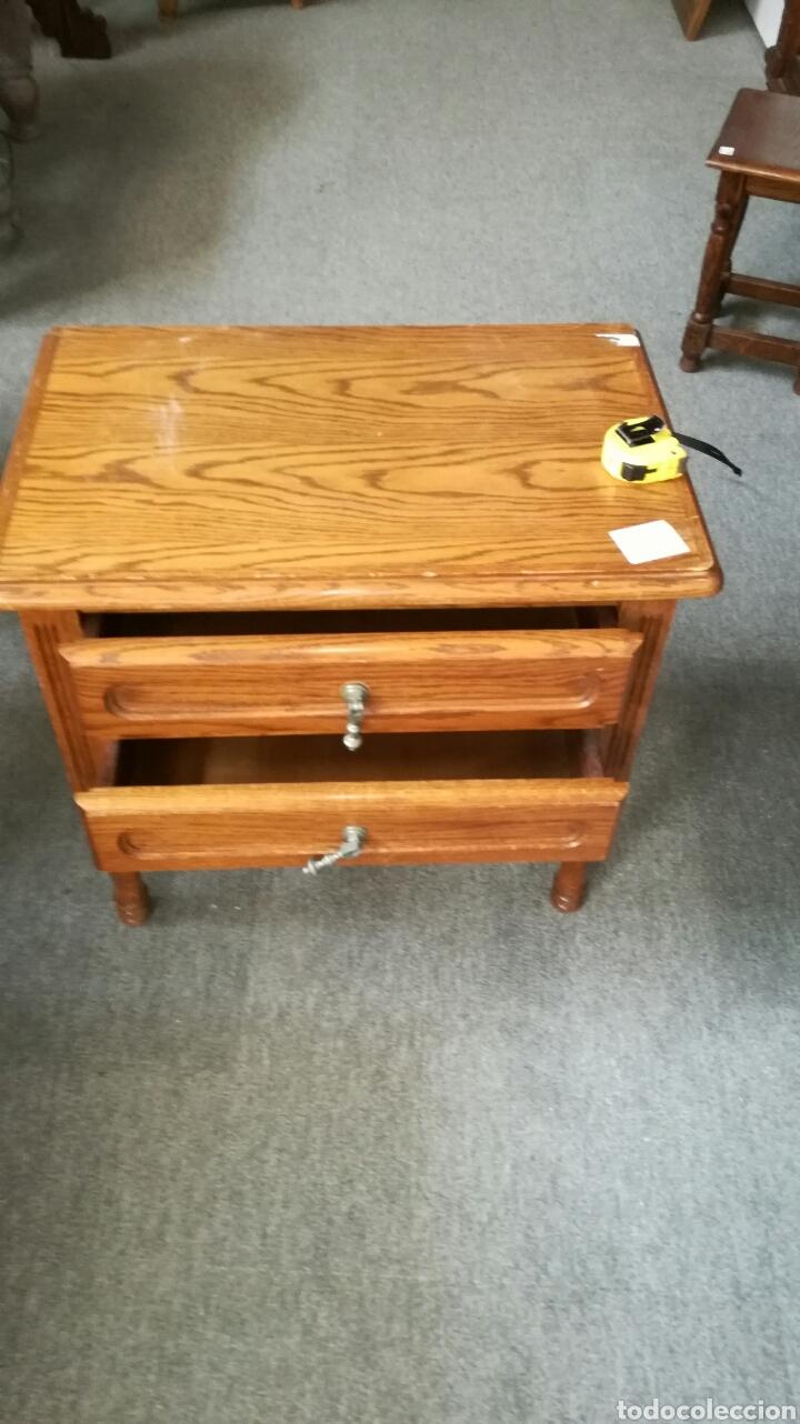 Segunda Mano: Mesa auxiliar de madera de roble L R - Foto 5 - 132868983