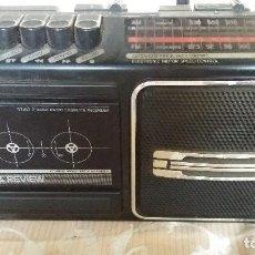 Segunda Mano: TECNOLOGÍA VINTAGE RADIO PORTÁTIL TRANSISTOR, PHILIPS, FUNCIONA LA RADIO. Lote 133219786