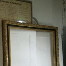 Segunda Mano: MARCO DORADO DE MADERA. Lote 133223597