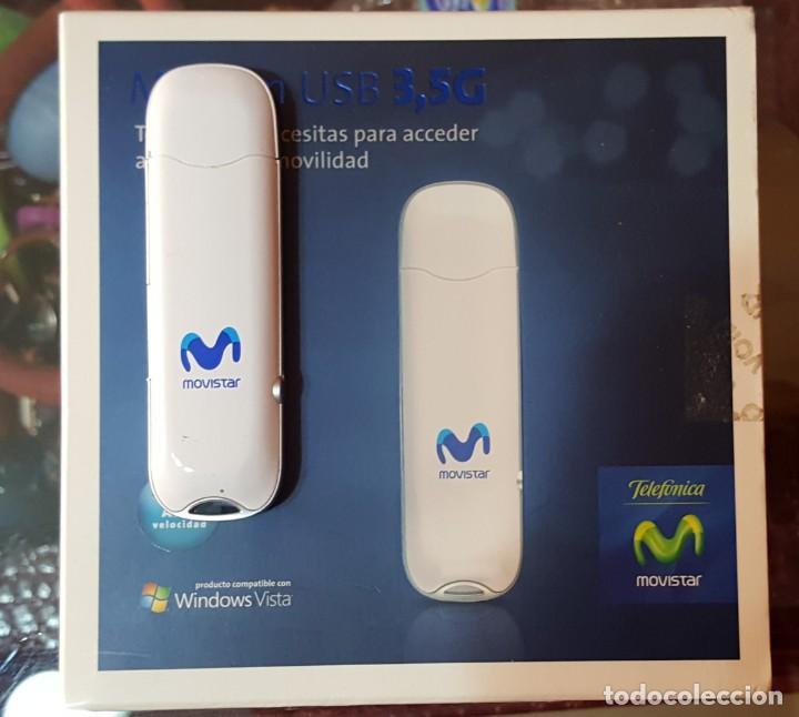 MODEM USB MOVISTAR 3.5 G PARA WINDOWS VISTA (Segunda Mano - Artículos de electrónica)