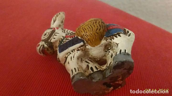 Segunda Mano: Figura de burro. Burrito. Ceramica, decoración vintage. - Foto 5 - 133548546