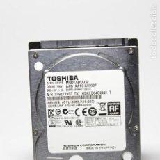 Segunda Mano: DISCO DURO 2.5 TOSHIBA 320GB BUFFER 8MB 5400RPM. Lote 133562362