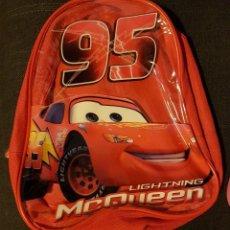 Segunda Mano: MOCHILA CARS RAYO MACQUEEN OFICIAL. Lote 133775374