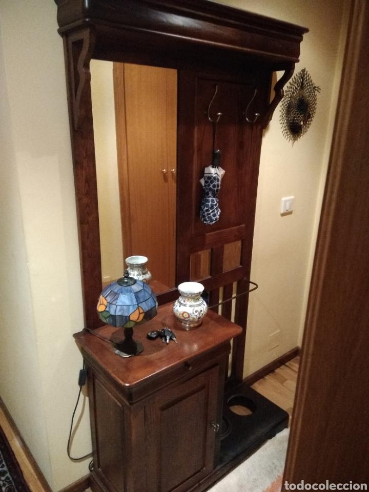 Mueble recibidor en madera comprar art culos de segunda - Recibidor segunda mano ...