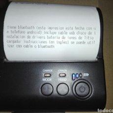 Segunda Mano: IMPRESORA BLUETOOTH Y USB PARA NEGOCIO O ESTABLECIMIENTO VER DESCRIPCION DEL ARTICULO. Lote 134031665