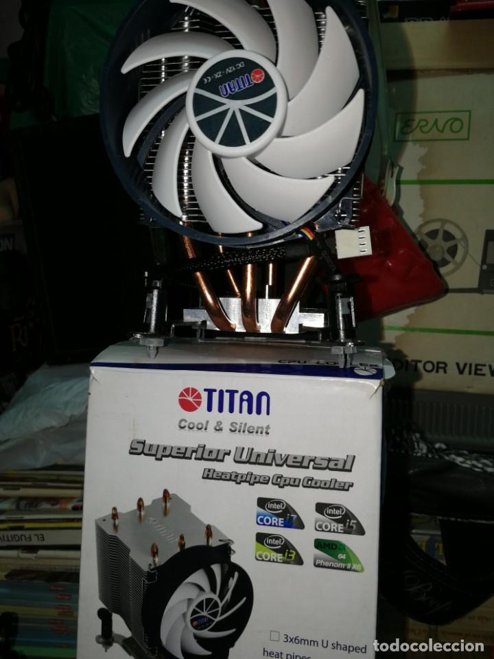 SUPER VENTILADOR TITAN SILENCIOSO INTEL CORE i3,i5,i7 y AMD segunda mano