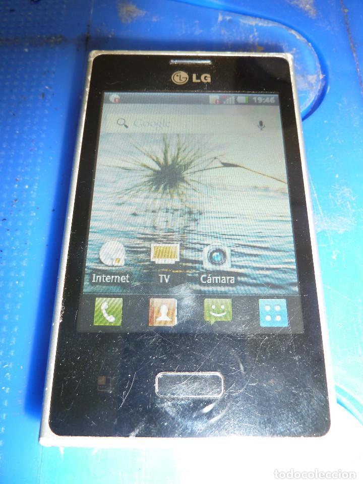 TELEFONO MOVIL LG-E400 (Segunda Mano - Artículos de electrónica)