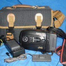 Segunda Mano: VIDEO-CÁMARA JVC GR-AX200 EN FORMATO VHS C PAL - FUNCIONA. Lote 134701850