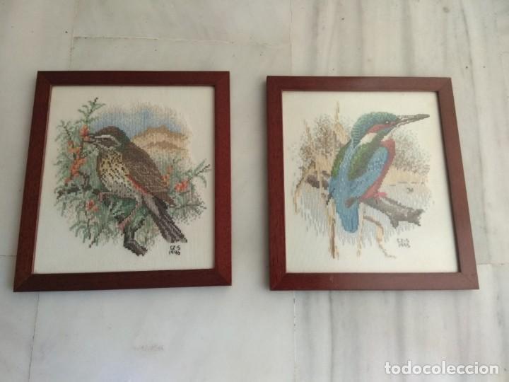 Cuadros De Punto De Cruz Para El Bano.2 Cuadros Punto De Cruz Sold At Auction 134916026
