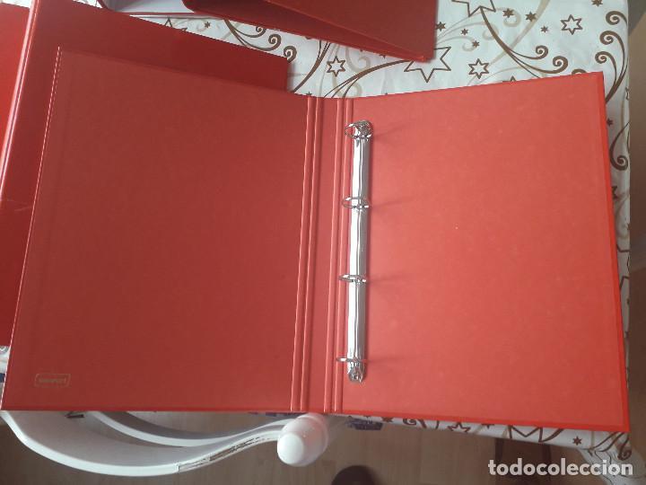 Segunda Mano: 12-00034 - pack 9 carpetas rojas de anillas, varios modelos - Foto 4 - 134943202