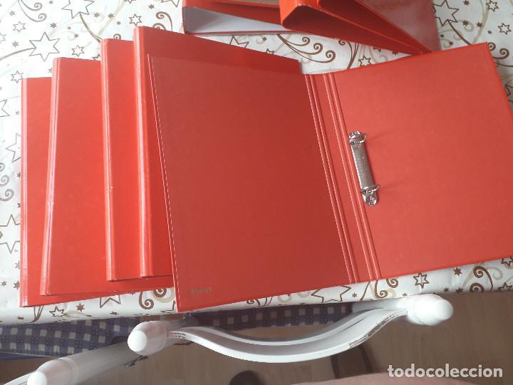 Segunda Mano: 12-00034 - pack 9 carpetas rojas de anillas, varios modelos - Foto 5 - 134943202
