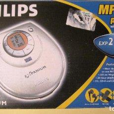Segunda Mano: CLASICO PHILIPS DISCMAN MP3,CD,CDR,CDRW. FUNCIONANDO.LECTOR DE DISCOS PORTATIL,PILAS O CORRIENTE. Lote 135104514