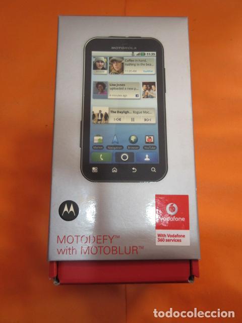fa36146b219 5 fotos CAJA TELEFONO MOVIL MOTOROLA MB525 MOTOBLUR VODAFONE (Segunda Mano  - Artículos de electrónica) ...