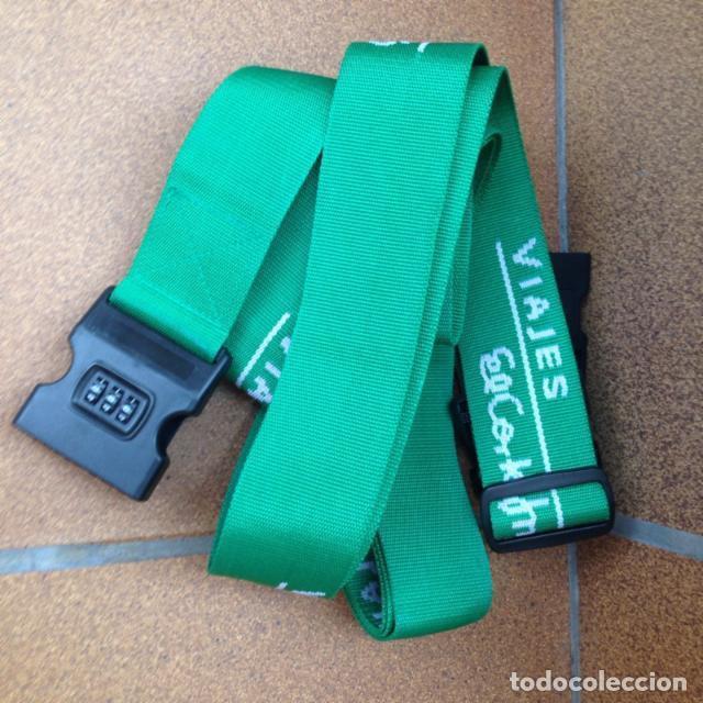 Segunda Mano: Cinturón para maleta y etiqueta metálica - Foto 2 - 114736259
