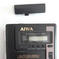 Segunda Mano: WALKMAN AIWA HS-T60 SUPER BASS CASSETTE Y RADIO NO FUNCIONA PARA PIEZAS O REPARAR. Lote 137431442
