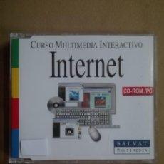 Segunda Mano: CURSO MULTIMEDIA INTERACTIVO DE INTERNET AÑOS 90 RELIQUIA. Lote 137689546