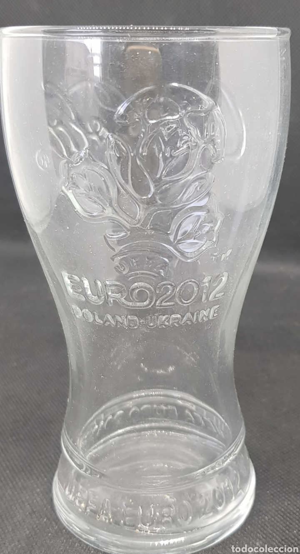 VASO COCA COLA - EUROCOPA 2012 - CAR54 (Segunda Mano - Hogar y decoración)